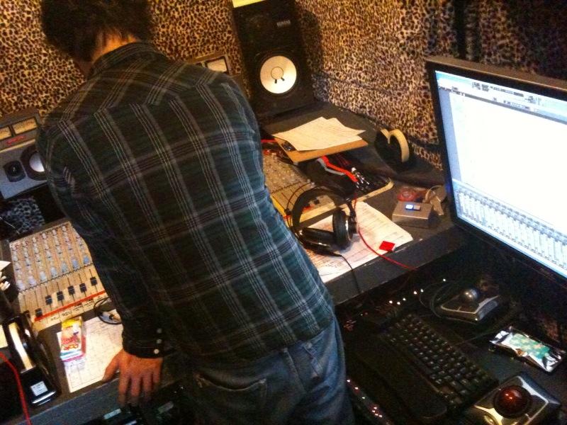 レコーディング 2